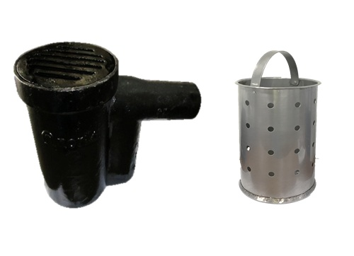 Cast Iron Gully Trap & Strainer